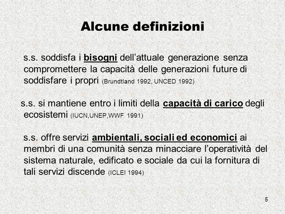 5 Alcune definizioni s.s.