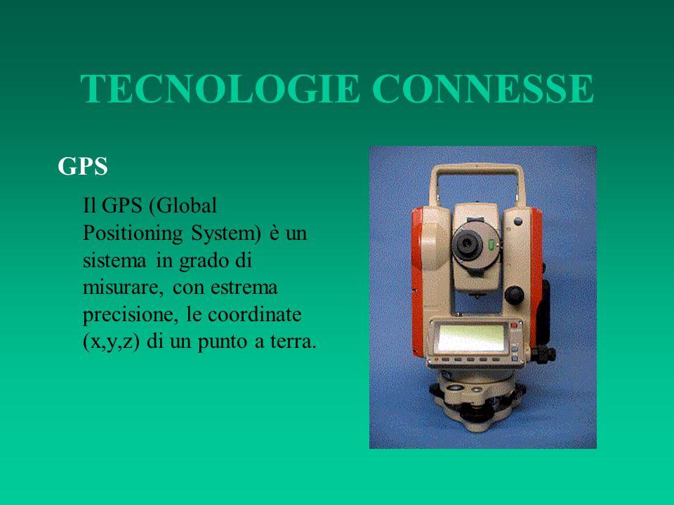 TECNOLOGIE CONNESSE GPS Il GPS (Global Positioning System) è un sistema in grado di misurare, con estrema precisione, le coordinate (x,y,z) di un punt