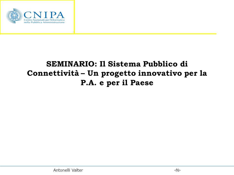 SEMINARIO: Il Sistema Pubblico di Connettività – Un progetto innovativo per la P.A.