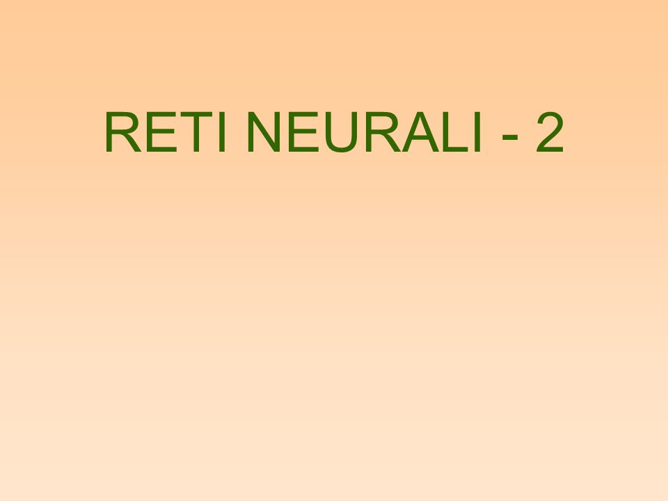 –Essendo z i <> 0 solo per il neurone vincitore, i pesi dei neuroni vincenti ruotano sempre piu verso gli stimoli vettorialmente piu vicini, fino a sovrapporsi idealmente con essi.