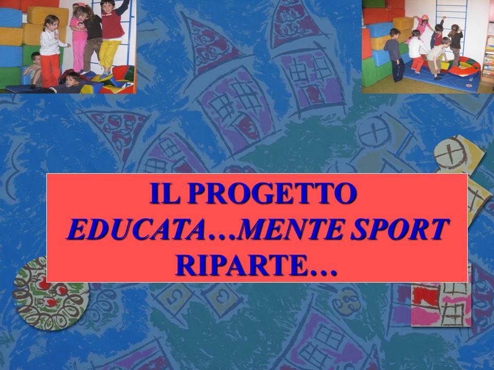 Anno Scolastico 2008/2009 IL PROGETTO EDUCATA…MENTE SPORT RIPARTE…