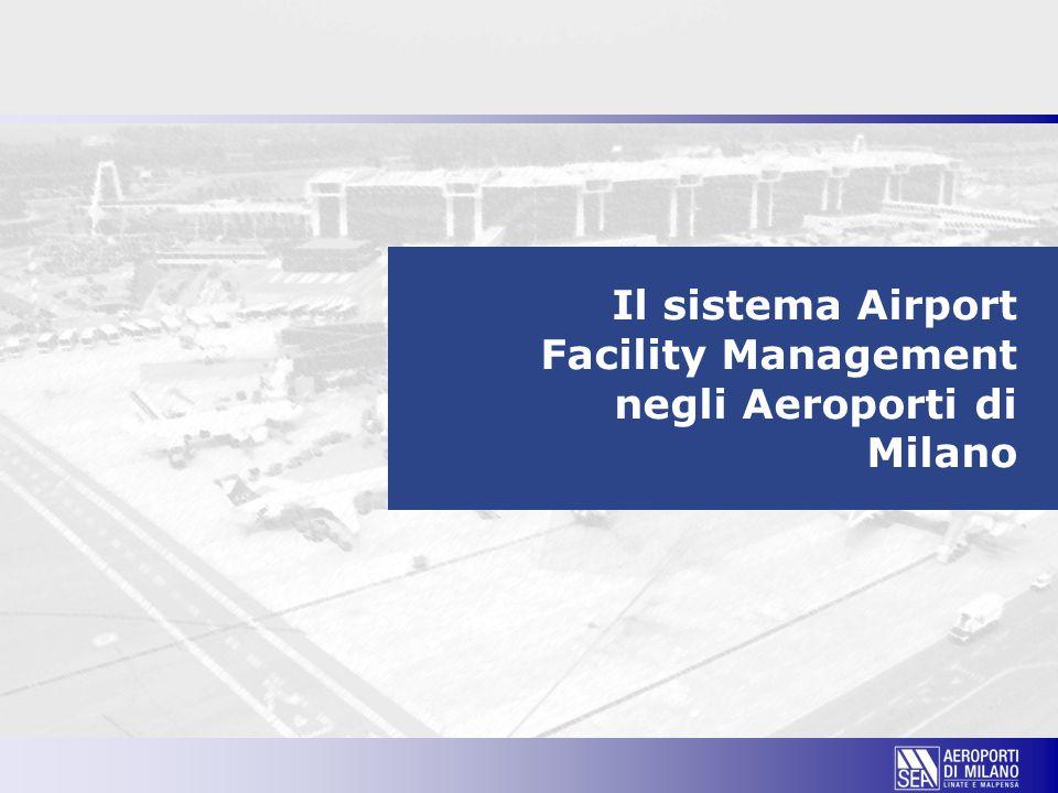 Il sistema Airport Facility Management negli Aeroporti di Milano