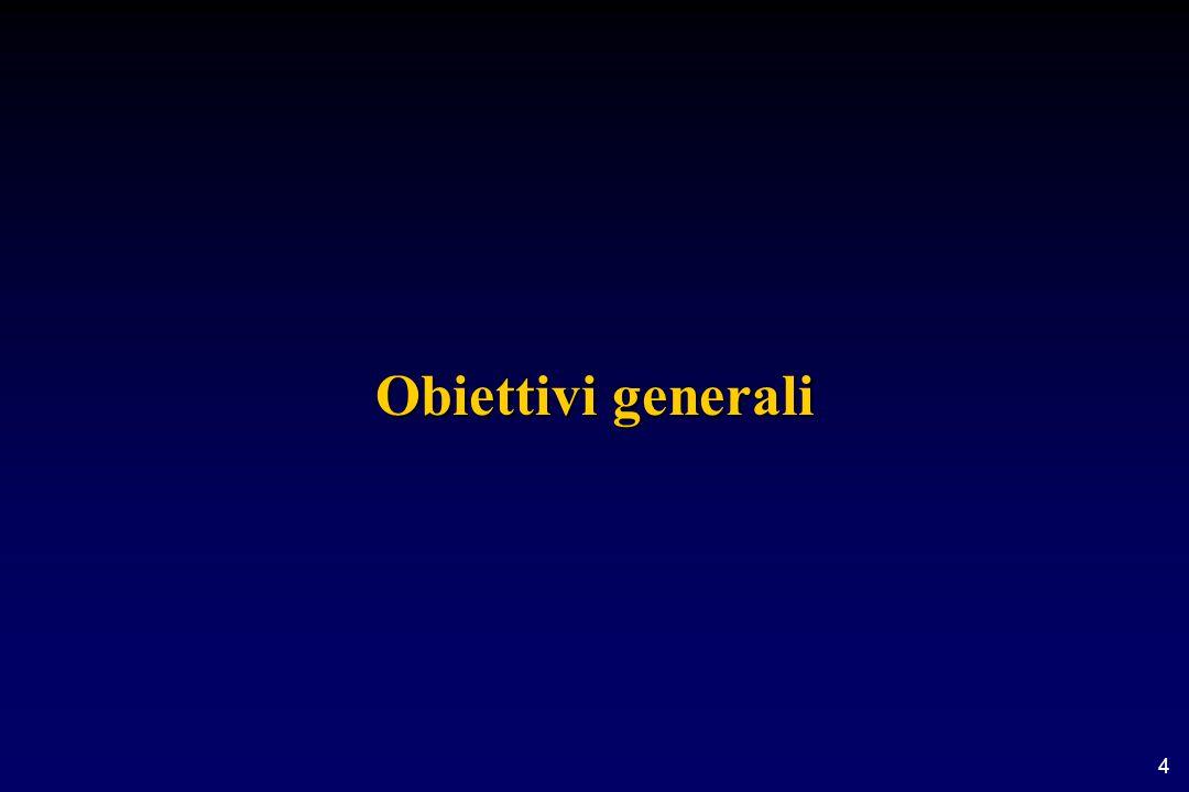 4 Obiettivi generali