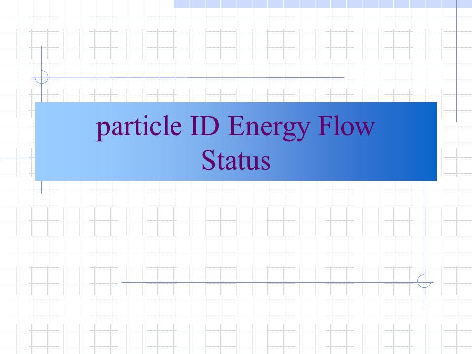 Correzione all'energia del getto +  E(singola particella) TK E(getto) calo only -  E(singola particella) calo only Correzione differente per : -elettroni -muoni -altri carichi