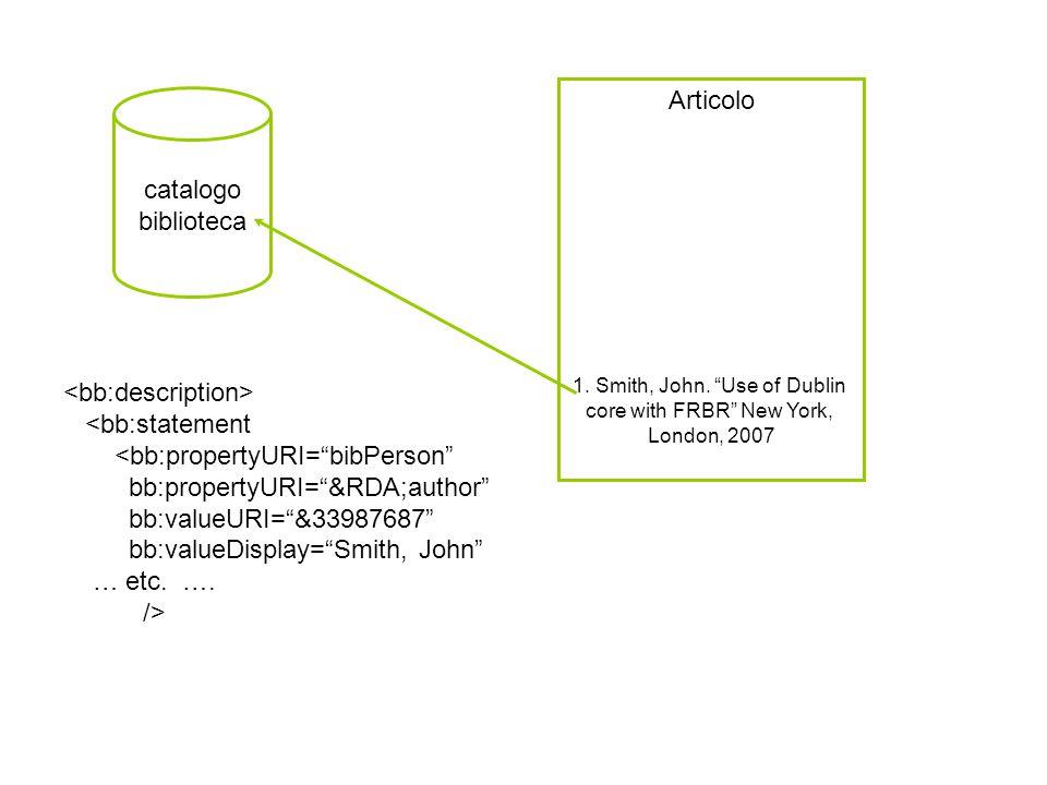 Articolo 1. Smith, John.