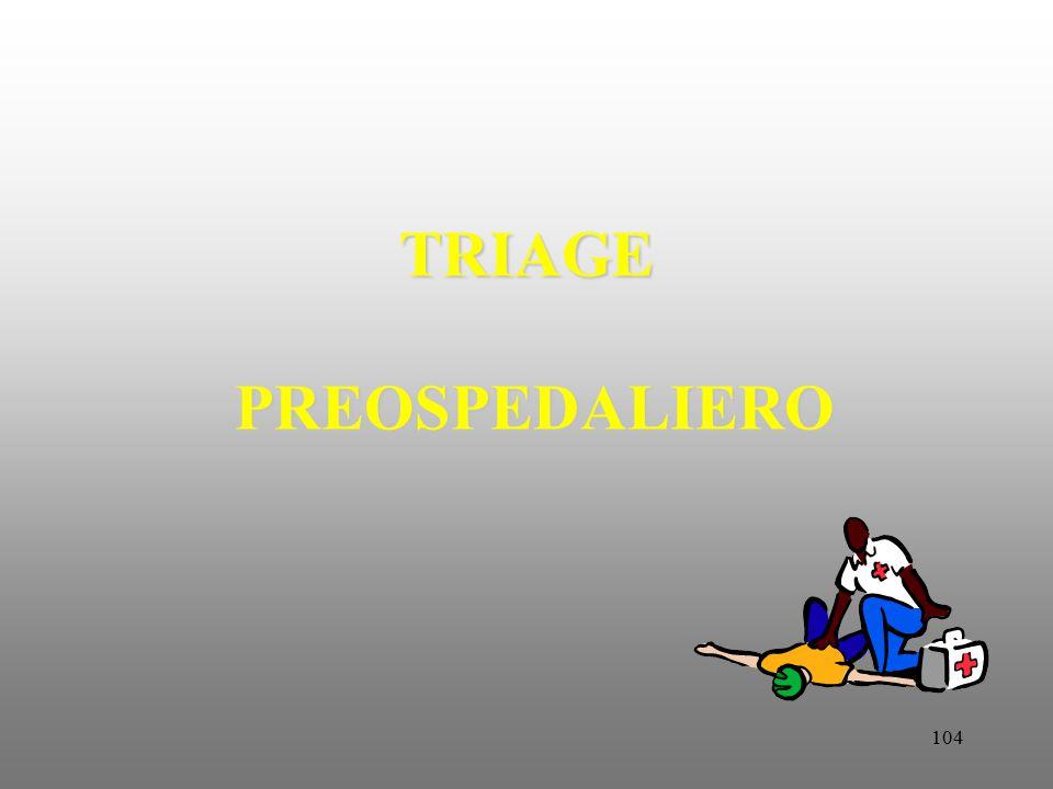104 TRIAGE PREOSPEDALIERO