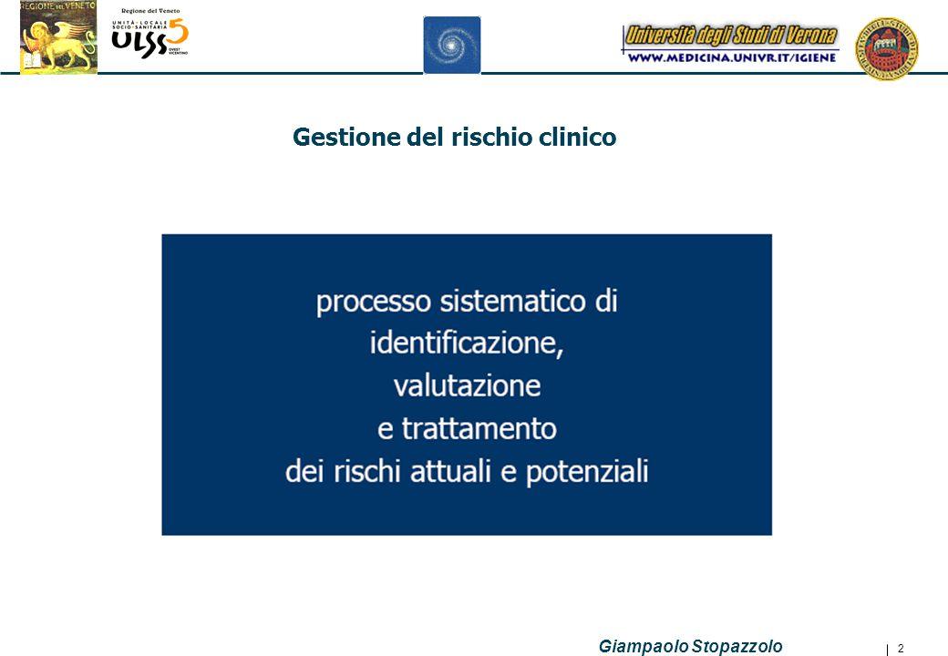 Giampaolo Stopazzolo 23 SIO Repository Dati alfanumerici Sist.