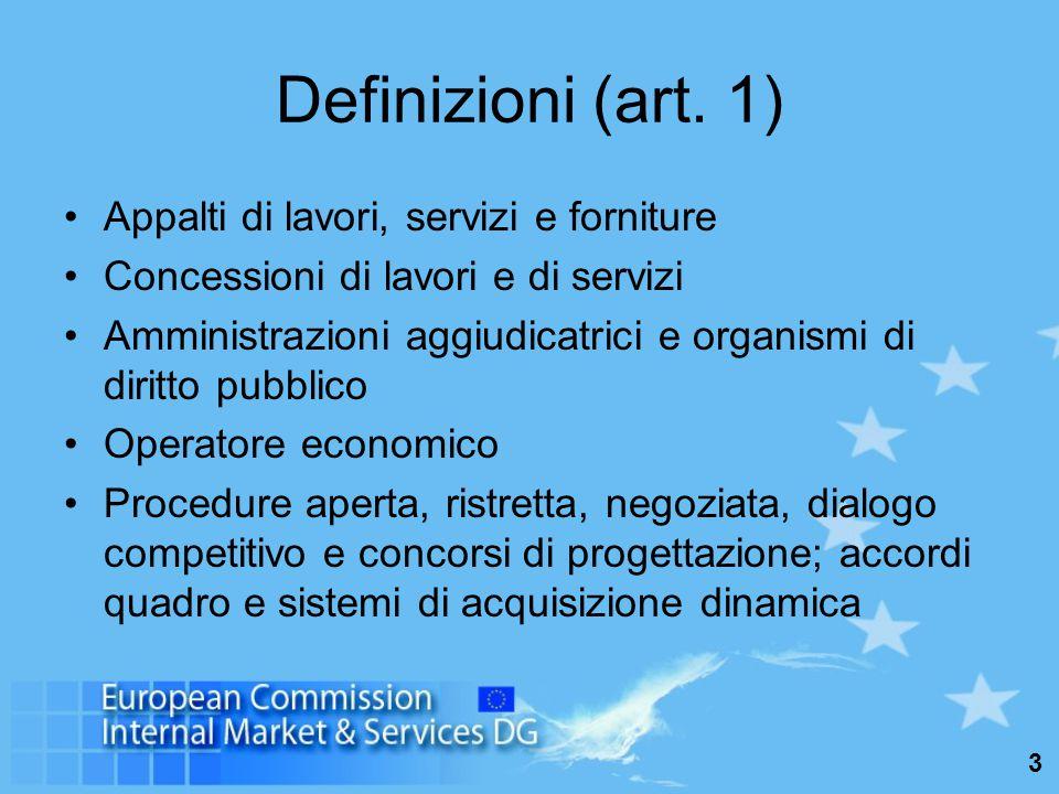 4 Le procedure: disposizioni generali Adattamento delle disposizioni nazionali (art.