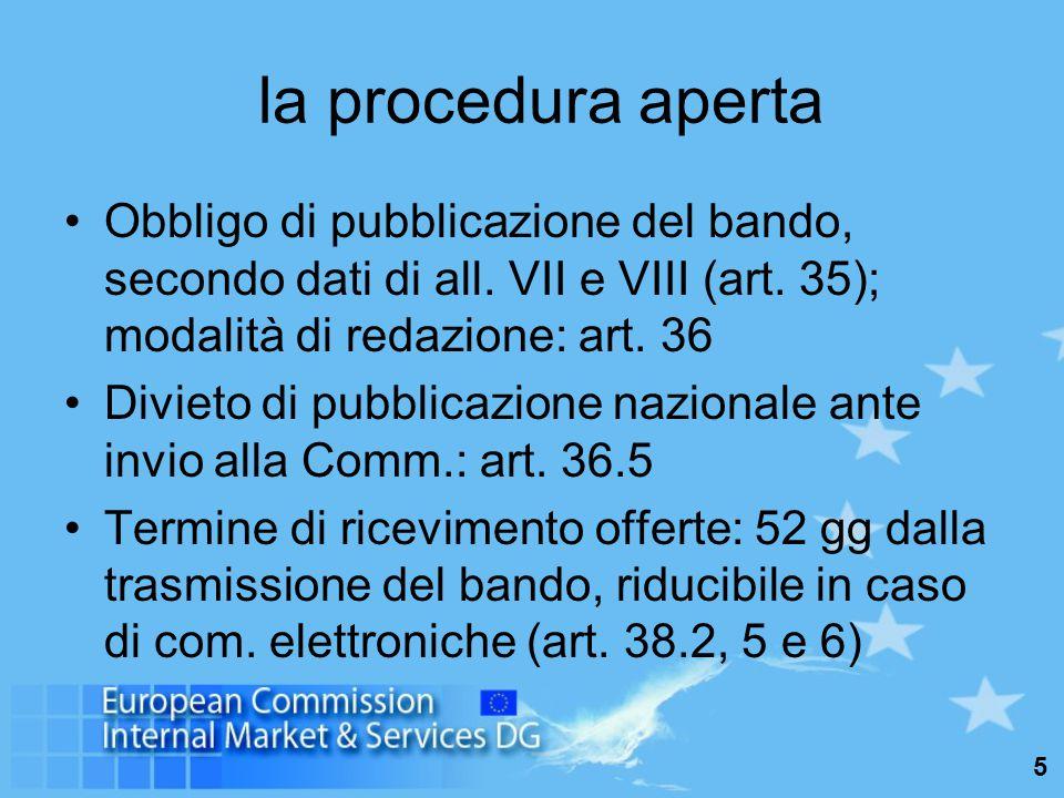 16 Tutela giurisdizionale Direttiva 89/665/CEE, richiamata dall'art.