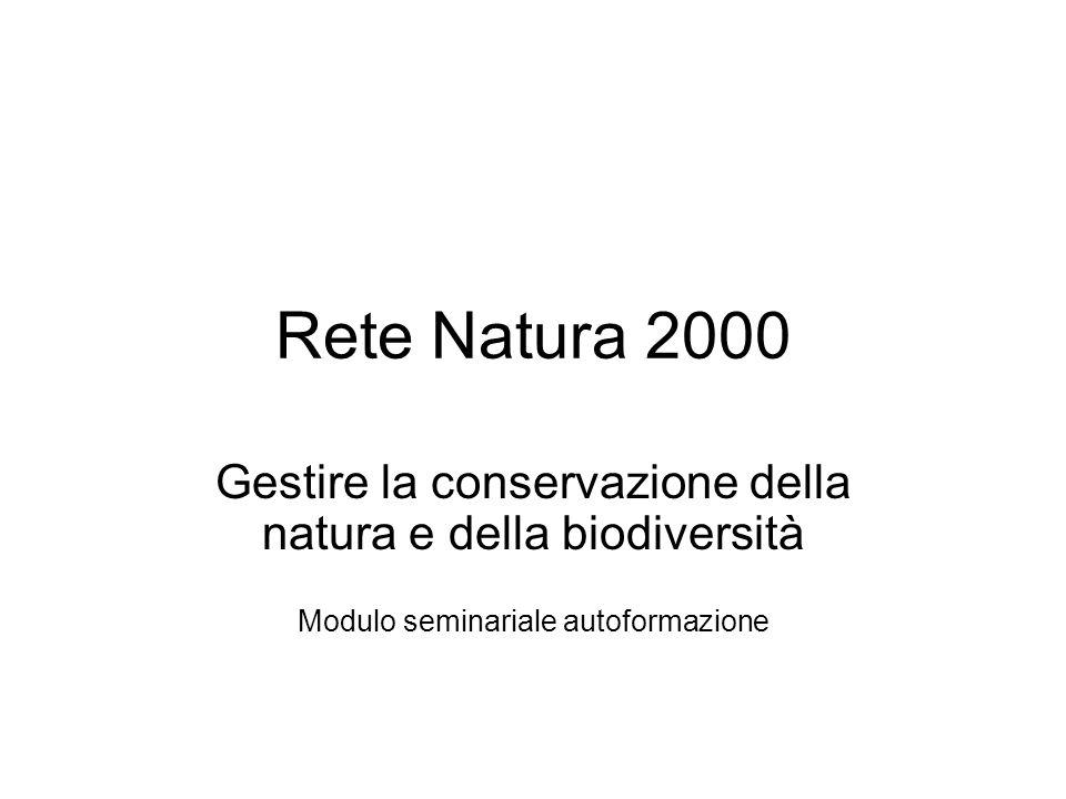 Direttiva Habitat I siti Europa (25): SIC 21.594 Km2 648.441 ZPS 4.850 Km2 442.196 Italia: SIC 2.283 Km2 42.830 ZPS 589 km2 41.080 Emilia-Romagna SIC 113 km2 1.947 ZPS 61 km2 1.556 Per la sovrapposizione di SIC e ZPS l'area totale in E-R ammonta a 2.365 km2