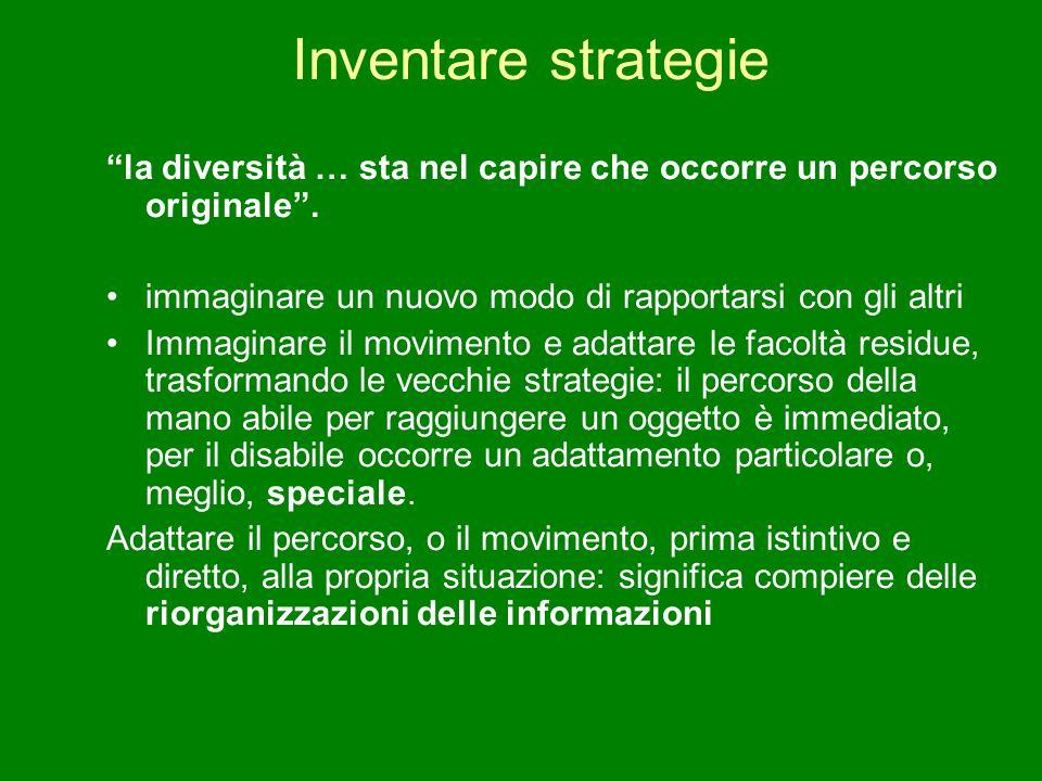 """Inventare strategie """"la diversità … sta nel capire che occorre un percorso originale"""". immaginare un nuovo modo di rapportarsi con gli altri Immaginar"""