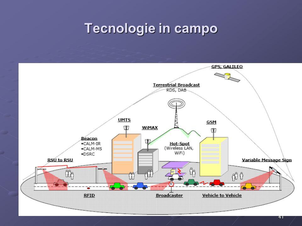 41 Tecnologie in campo