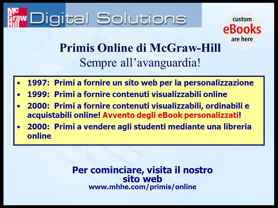 1997: Primi a fornire un sito web per la personalizzazione 1999: Primi a fornire contenuti visualizzabili online 2000: Primi a fornire contenuti visualizzabili, ordinabili e acquistabili online.