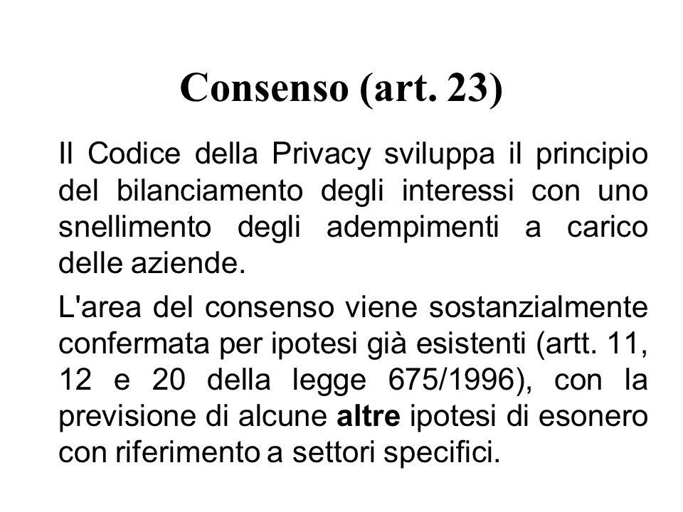 Consenso (art.