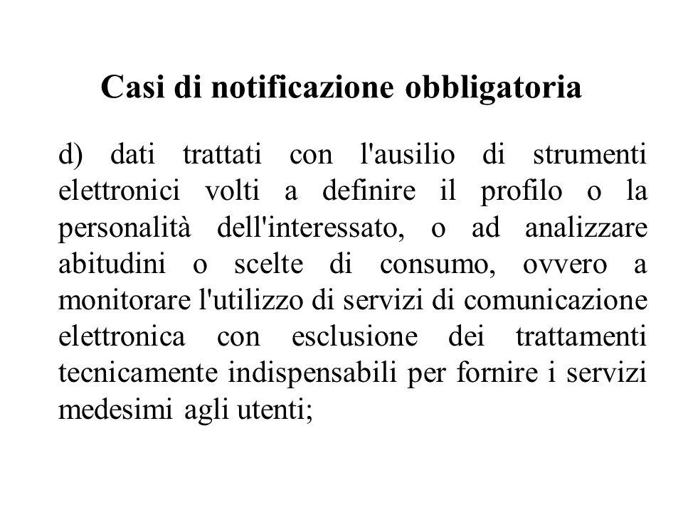 Informativa agli Interessati (art.13) 3.
