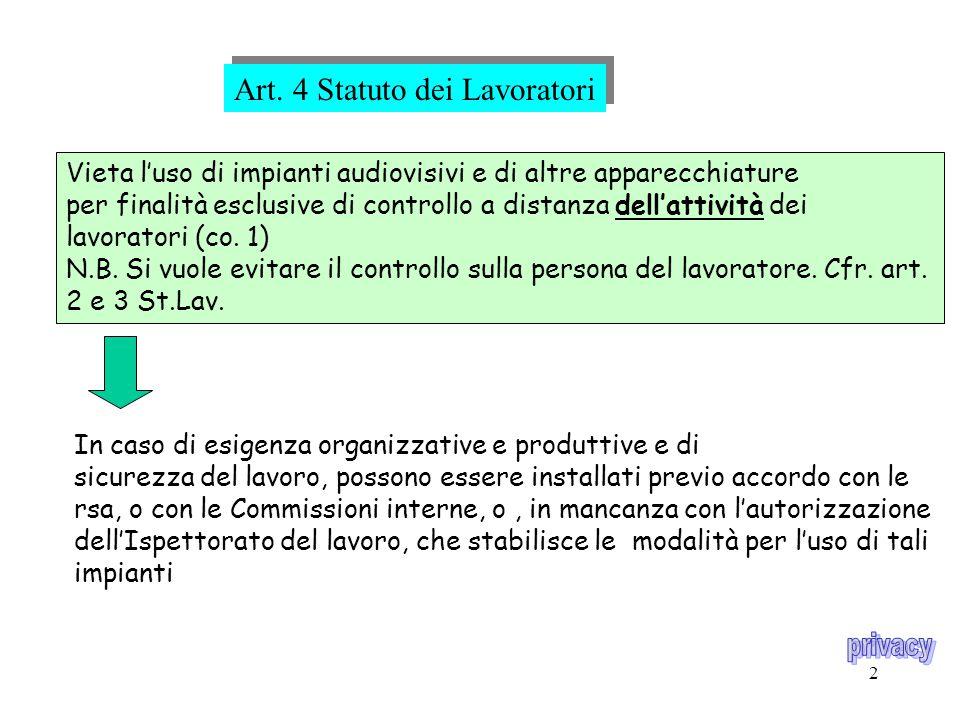 12 NOTIFICAZIONE L.675/1996- art.