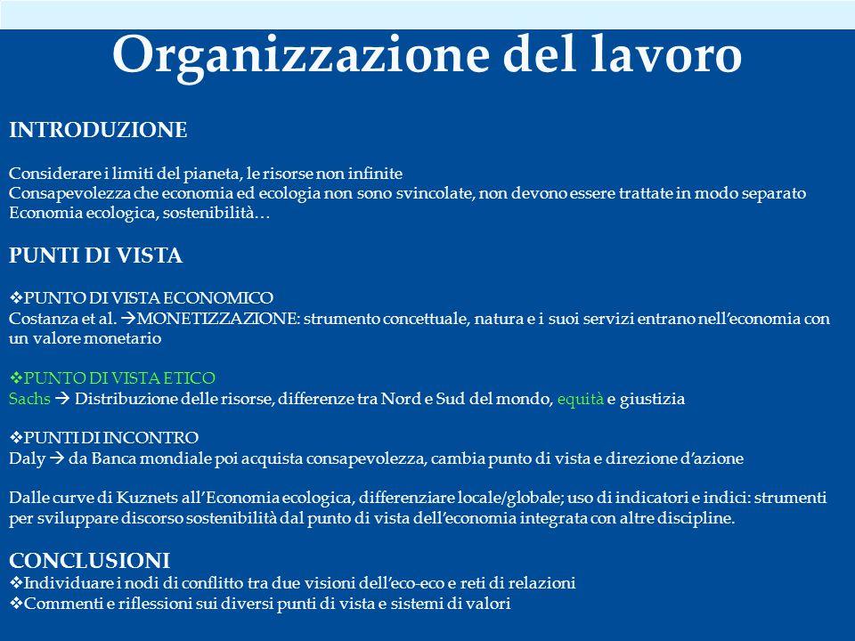 5 componenti: 1.Ecosistemi 2. Riduzione degli stress ambientali 3.
