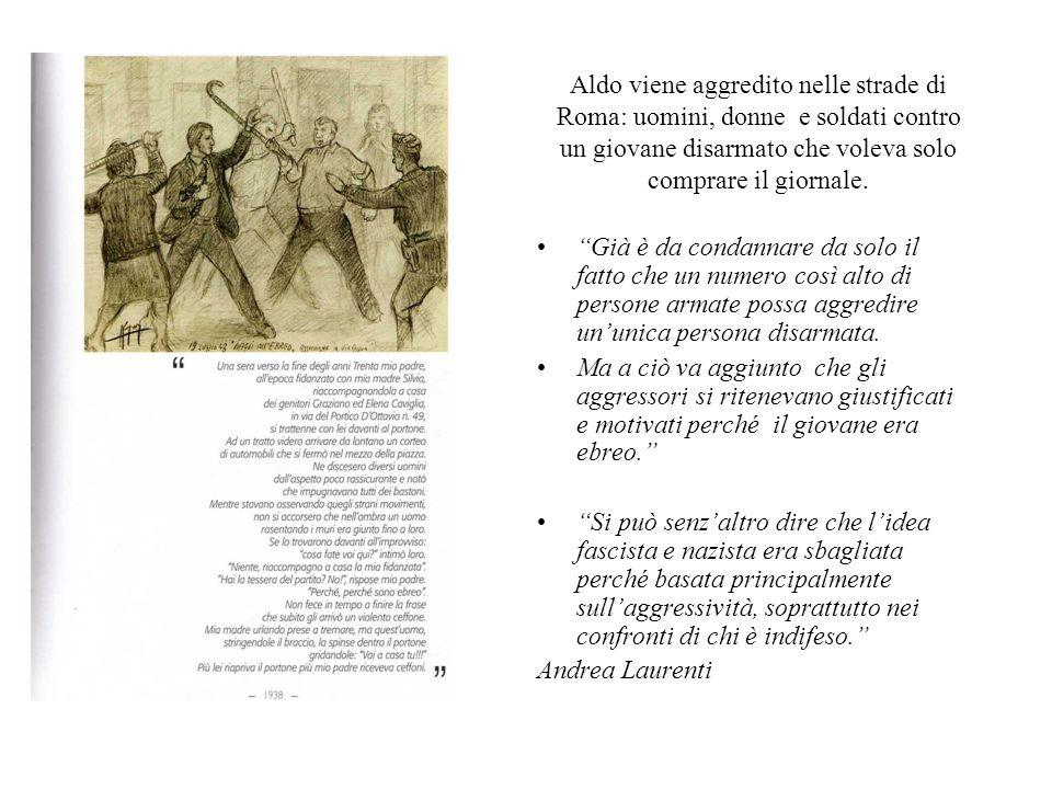 """Aldo viene aggredito nelle strade di Roma: uomini, donne e soldati contro un giovane disarmato che voleva solo comprare il giornale. """"Già è da condann"""