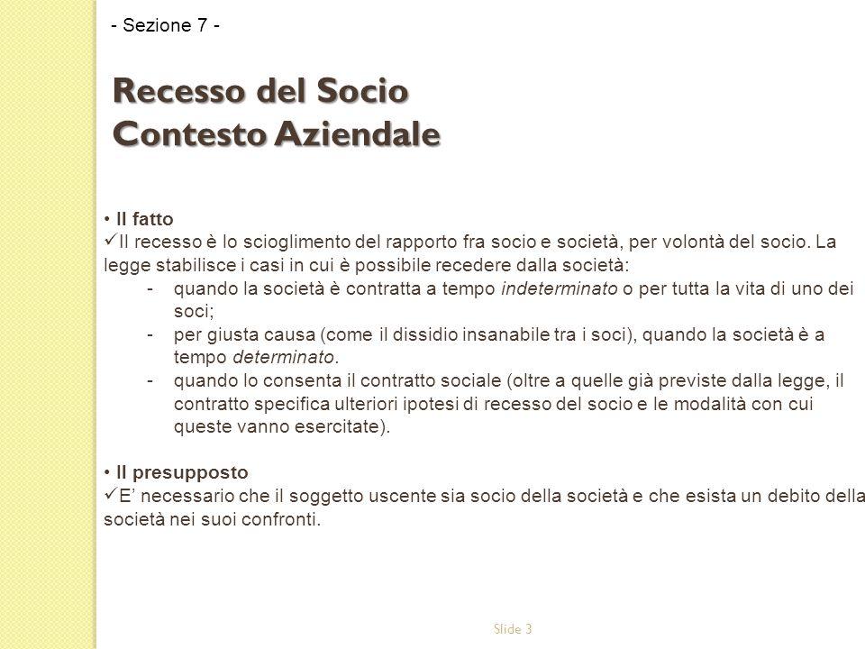 Slide 24 Il parere della società di revisione ai sensi dell'art.
