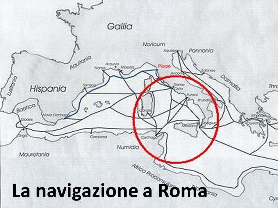 La navigazione a Roma