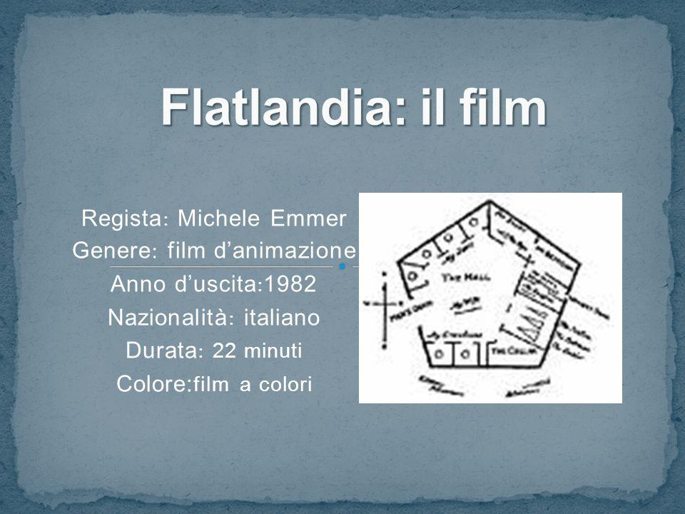Regista : Michele Emmer Genere : film d'animazione Anno d'uscita : 1982 Nazionalità : italiano Durata : 22 minuti Colore: film a colori
