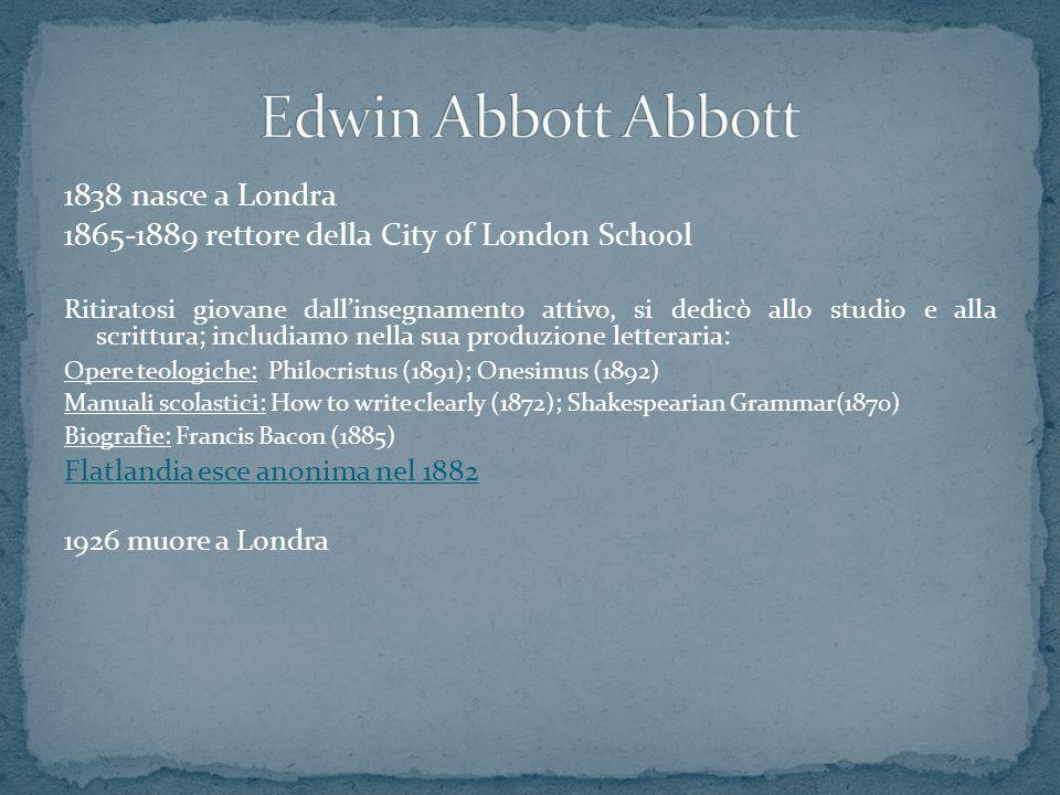 1838 nasce a Londra 1865-1889 rettore della City of London School Ritiratosi giovane dall'insegnamento attivo, si dedicò allo studio e alla scrittura;