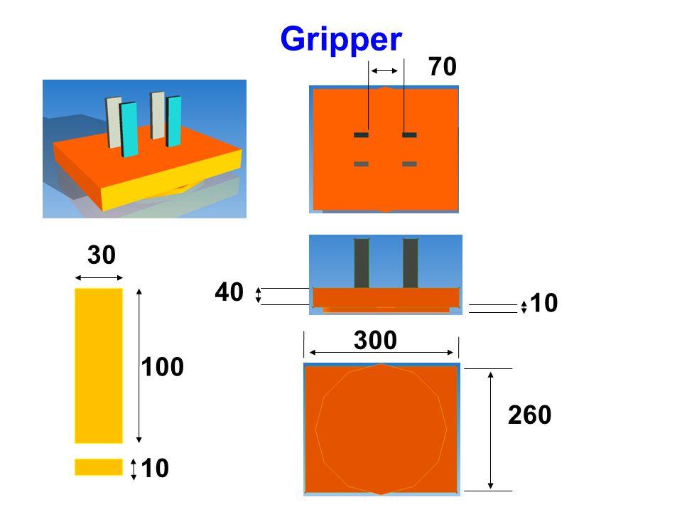 Gripper 10 100 30 70 40 10 260 300