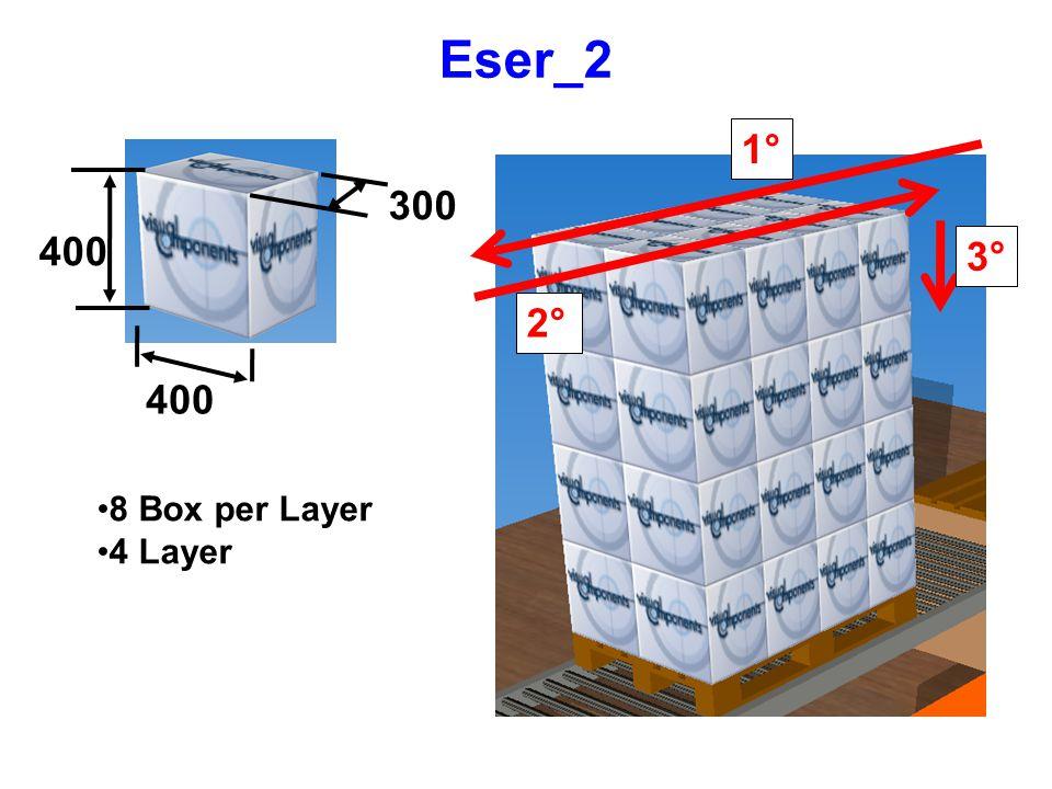Eser_2 300 400 8 Box per Layer 4 Layer 1° 2° 3°