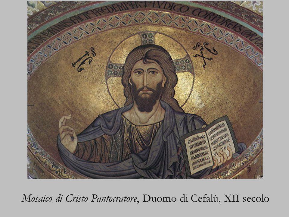 Mosaico di Cristo Pantocratore, Duomo di Cefalù, XII secolo