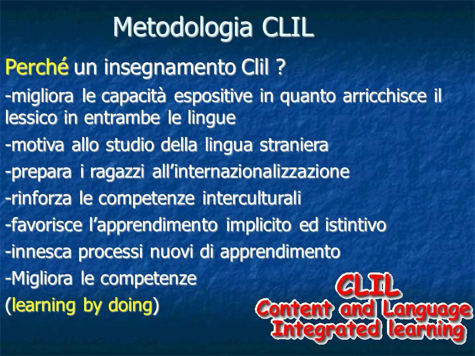 Perché un insegnamento Clil .