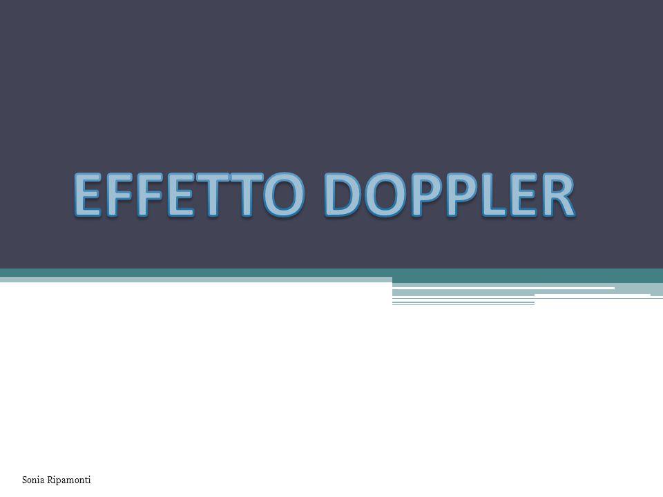 L'effetto Doppler è un fenomeno che prende il nome dal fisico che lo ha evidenziato la prima volta ed è valido per tutti i fenomeni ondulatori, quindi anche per onde sonore ed elettromagnetiche.