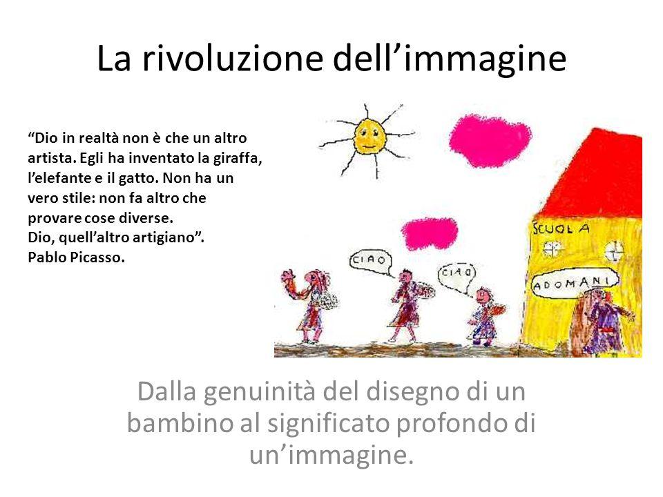 La rivoluzione dell'immagine Dalla genuinità del disegno di un bambino al significato profondo di un'immagine.