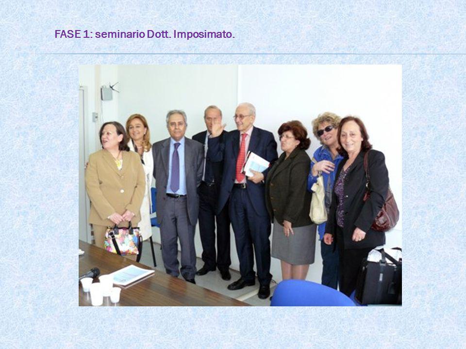 FASE 1: seminario Dott. Imposimato.