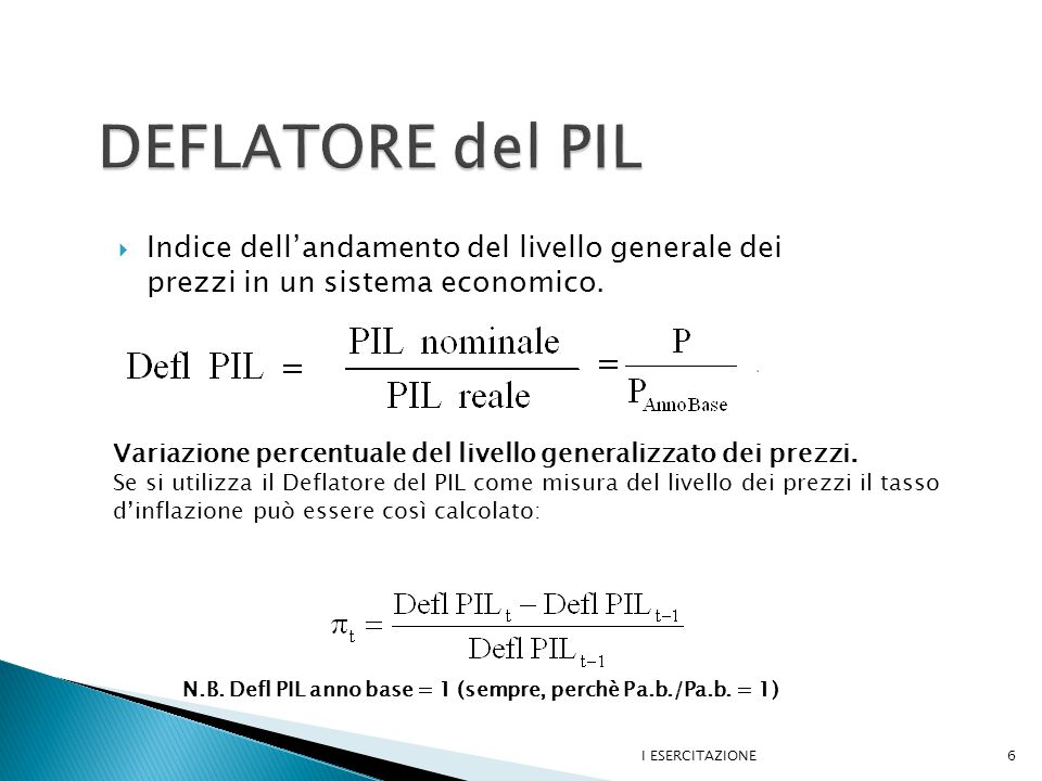  Defl.2004 = 2450/2450 = 1 Defl. 2005 = 3054/2545 = 1.2 Defl.