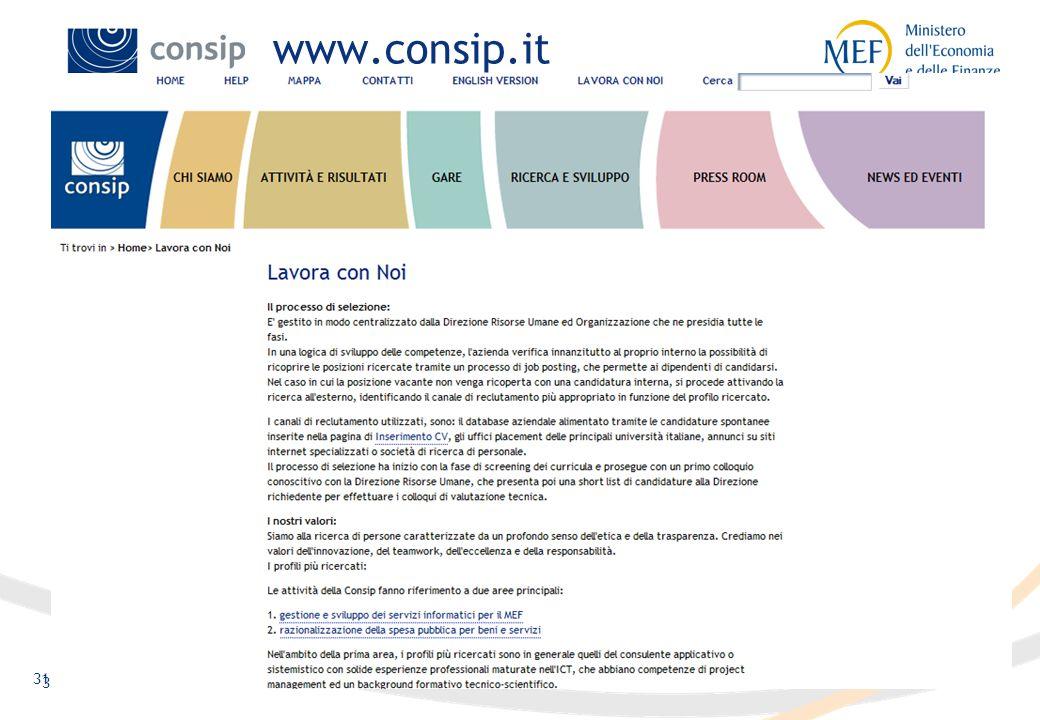 31 www.consip.it