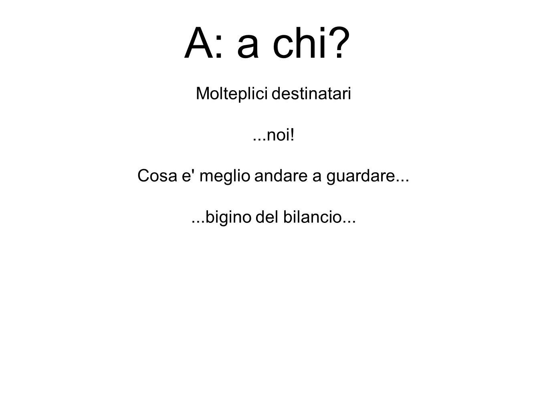 Look the bottom (line) Il conto economico...
