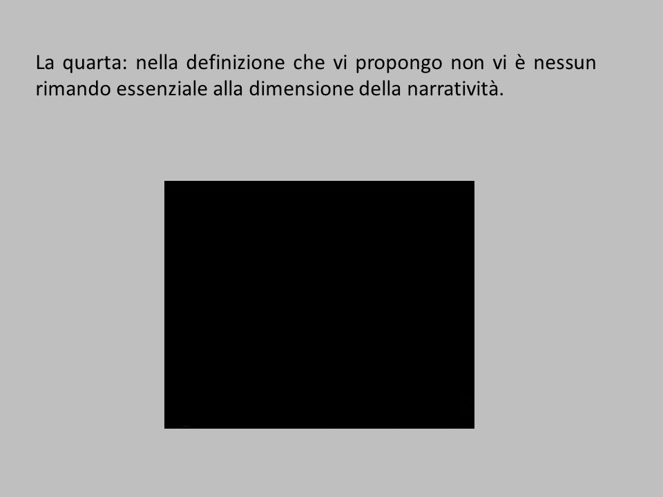 Il nostro primo problema: che cos'è un'immagine.