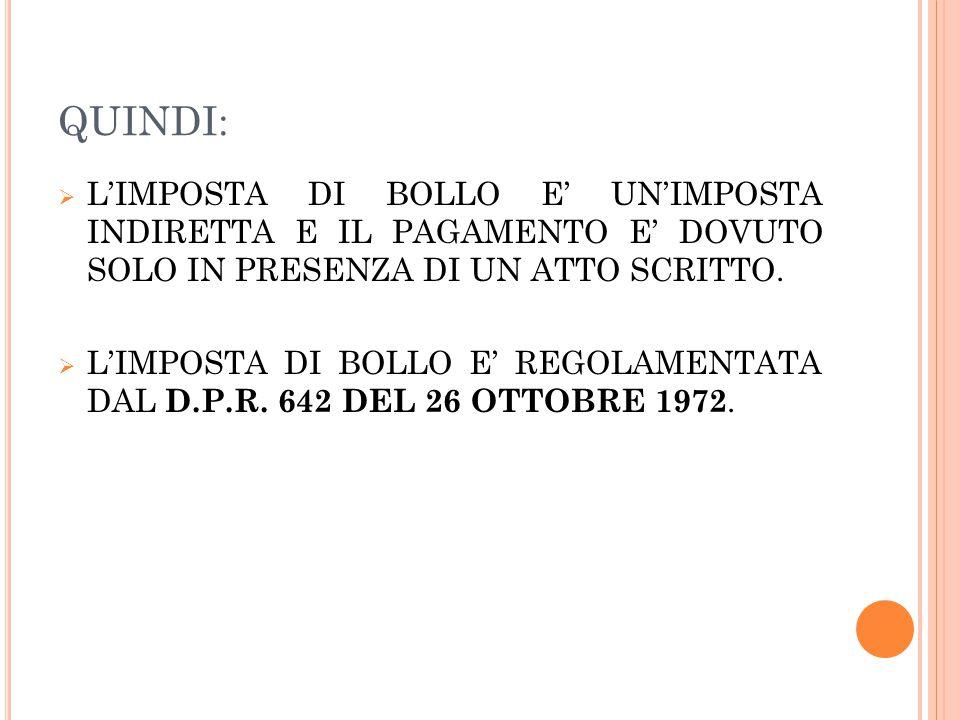 D.P.R.26 OTTOBRE 1972, N.