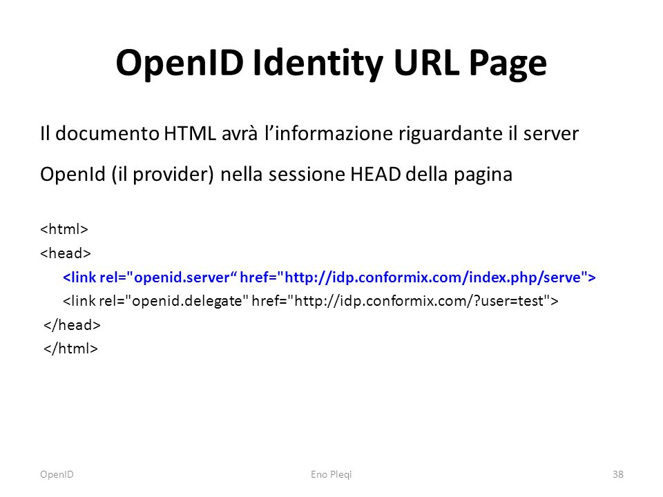 OpenID Messages associate message checkid_immediate message checkid_setup message check_authentication message OpenID39Eno Pleqi