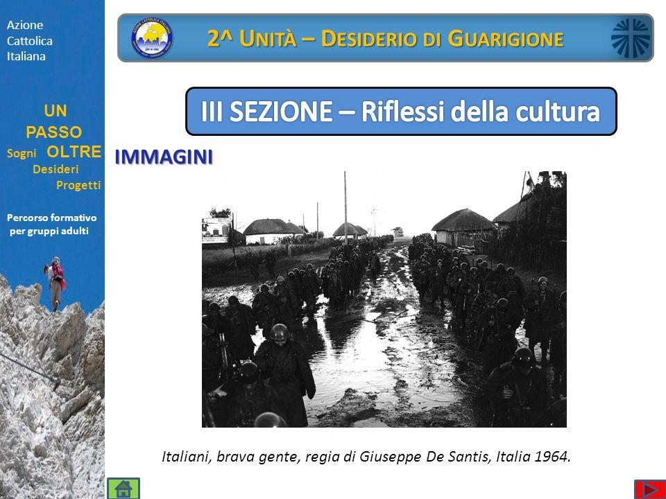 IMMAGINI Azione Cattolica Italiana UN PASSO Sogni OLTRE Desideri Progetti Percorso formativo per gruppi adulti 2^ U NITÀ – D ESIDERIO DI G UARIGIONE I