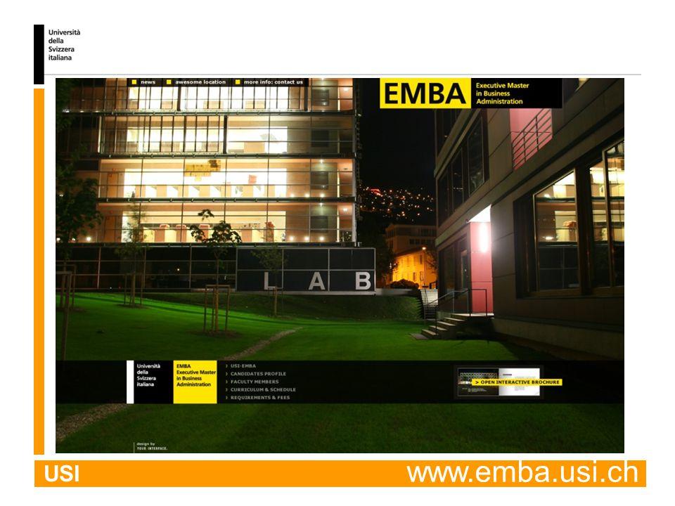 USI www.emba.usi.ch
