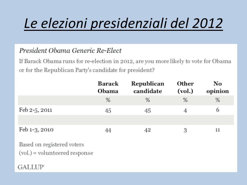 Le elezioni presidenziali del 2012