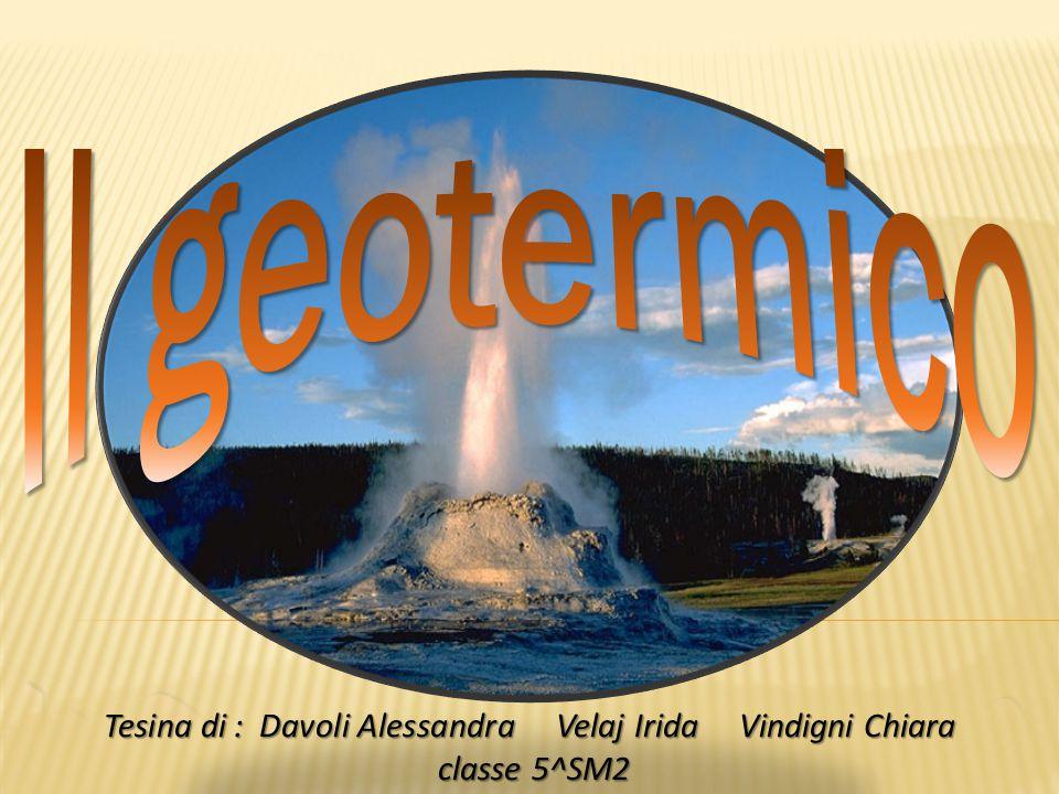 IntroduzioneI sistemi geotermiciEsplorazione geotermicaLe tecnologie di utilizzazione dell'energia geotermicaConsiderazioni economichePaesi che sfruttano l'energia geotermicaImpatto ambientale dell'energia geotermicaConclusioni