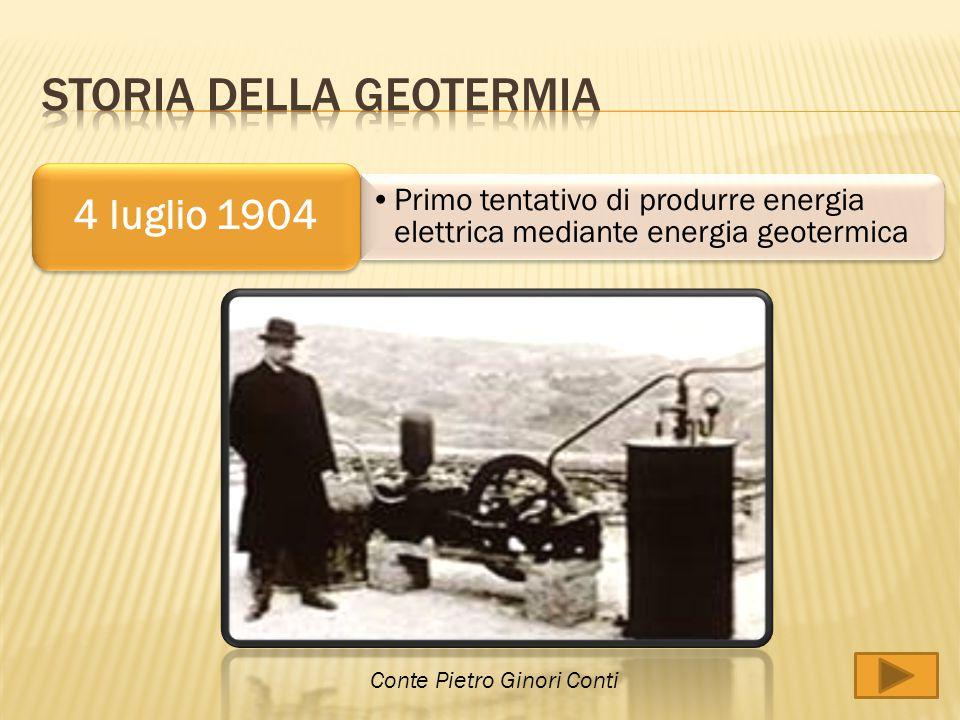 L'energia geotermica, se è sfruttata correttamente, può assumere un ruolo significativo nel bilancio energetico di numerosi paesi.