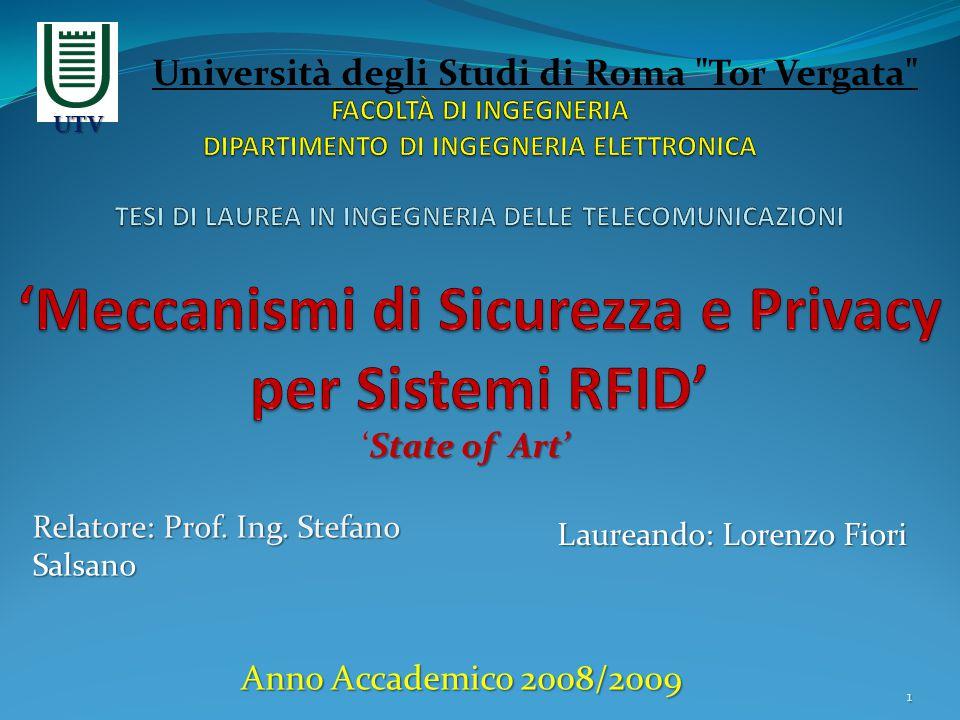 Anno Accademico 2008/2009 Università degli Studi di Roma