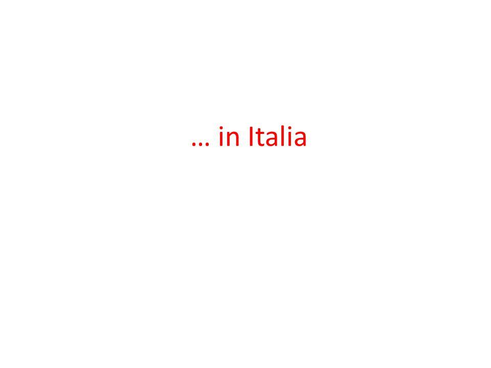 … in Italia