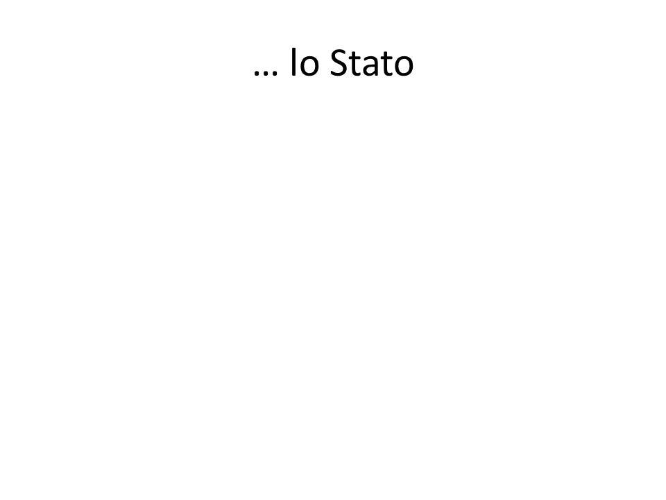 … lo Stato