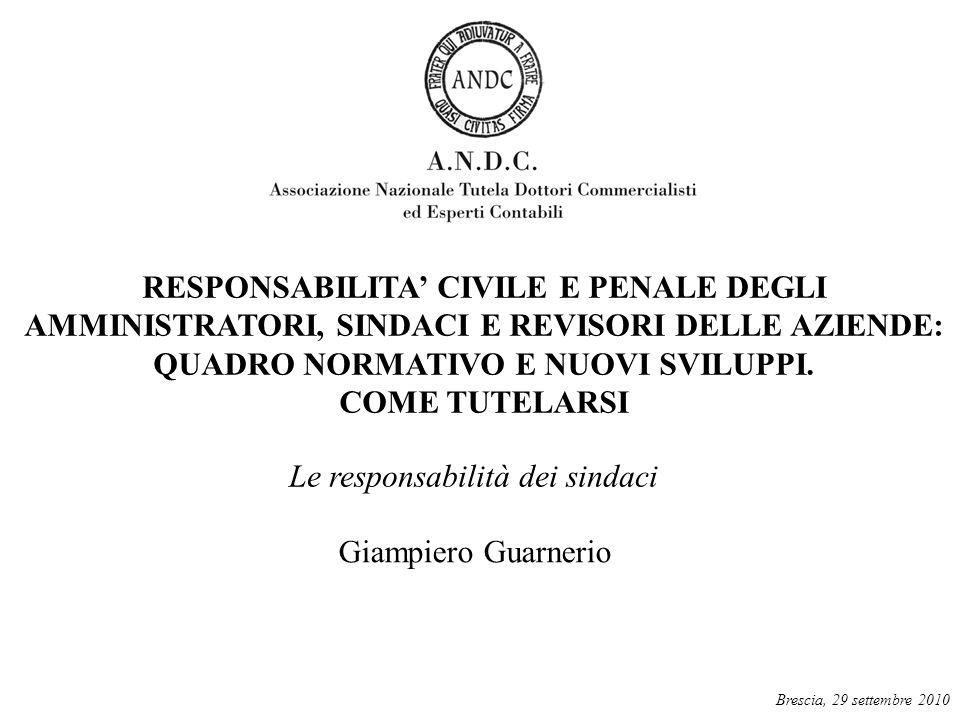 L'attività del sindaco è regolata da: codice civile (artt.