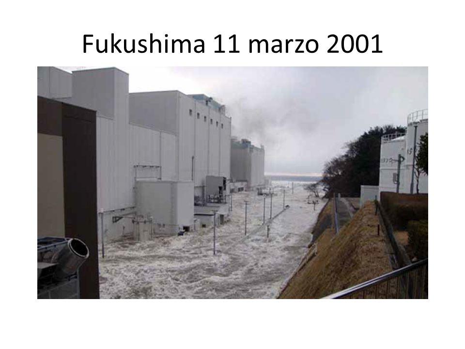 Fukushima 11 marzo 2001