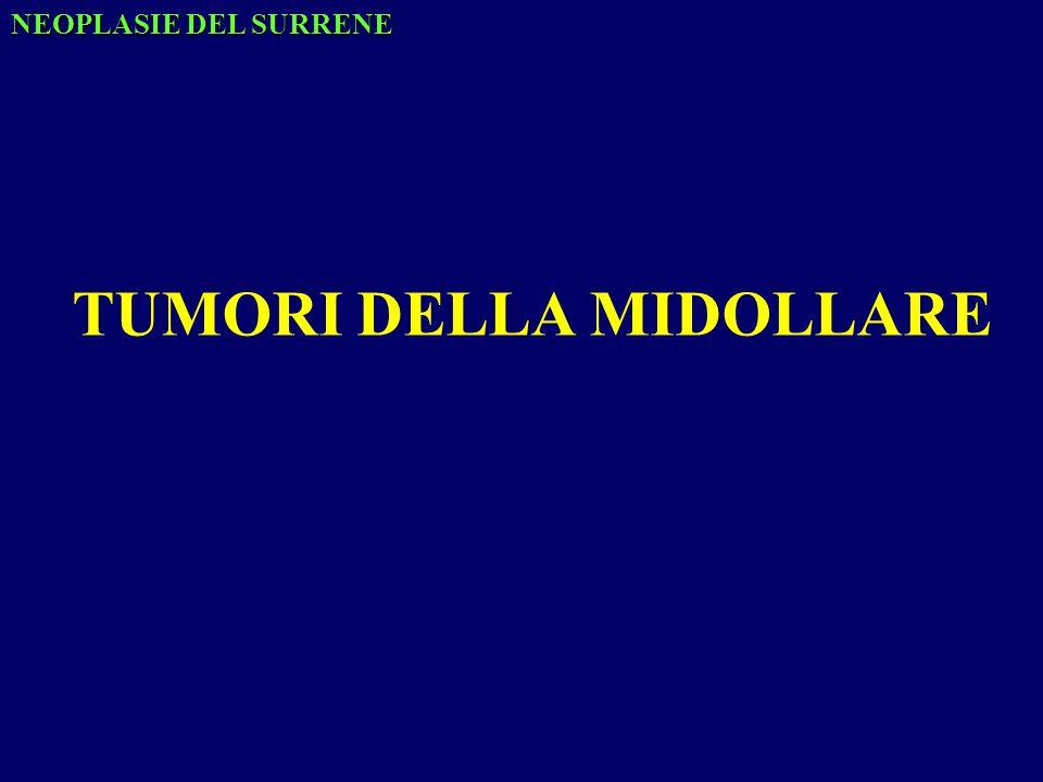 NEOPLASIE DEL SURRENE TUMORI DELLA MIDOLLARE
